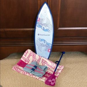 American Girl paddle board set